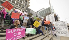 Richmond Teachers, Students and Parents Rally for More Schools Funding