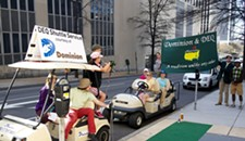 Protesters Break Out the Golf Clubs to Make a Point about Virginia DEQ Chief