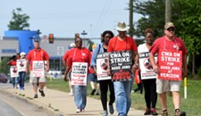 Striking Workers in the Richmond Area Keep Pressure on Verizon
