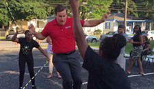 Video of the Day: 8 News Reporter Parker Slaybaugh's Mad Double-Dutch Skills