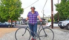 Visiting Poet Mathias Svalina Wants to Bring Richmond Dreams by Bike