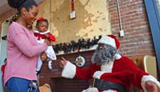 Soul Santa Appears at the Black History Museum of Virginia