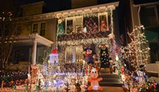 Here's What Local Artists Had to Say About Richmond's Tacky Christmas Light Houses