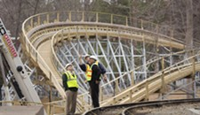 Busch Gardens' First Wooden Coaster Hits the Sweet Spot Between Tame and Terrifying