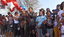 Two Teenagers Remembered at Mosby Court