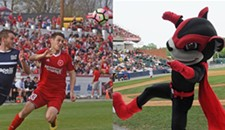 Richmond Kickers Beat Flying Squirrels in Attendance Matchup
