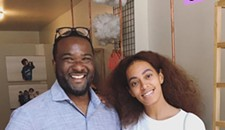 Solange Knowles Goes Shopping in Richmond For Kids' Clothes