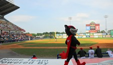 Flying Squirrels Opening Night at the Diamond