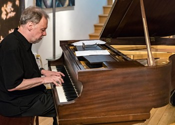 One of Richmond's greatest jazz pianists, Steve Kessler, returns from the wilds of Ontario for a couple shows