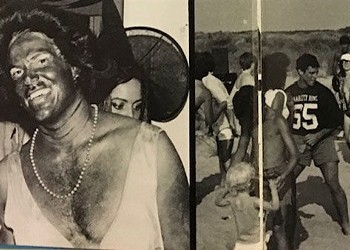 There was more than 1 photo of men in blackface in the 1984 EVMS yearbook