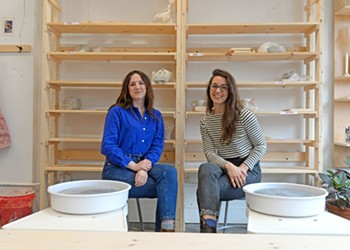 Clay Dreams: A couple of like-minded artists open the Hand/Thrown ceramics studio