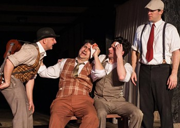 """Theater Review: Fools Overshadow Lovers in Quill Theatre's """"Twelfth Night"""""""