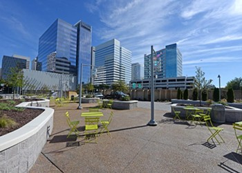 Architecture Review: Kanawha Plaza Reopens With a Welcomed Cleaning and Makeover