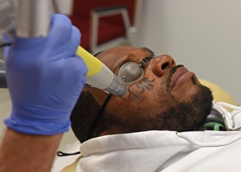 Former Inmates Get Free Tattoo Removal at Henrico Business
