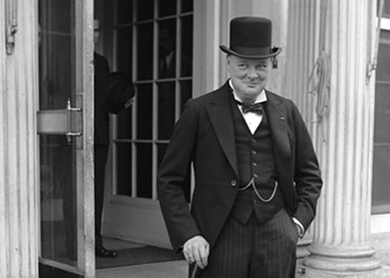 Winston Churchill in Richmond