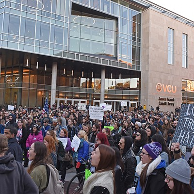 Richmond Grabs Back Anti-Trump Protest