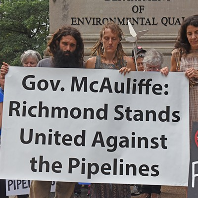 Fracked Gas Pipeline Protest