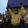 Scenes from the Ferguson Protest at the John Marshall Courts Building 11/25/14