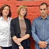 Jennifer Rawlings, 39, Noelle Archibald, 35, and Zach Archibald, 39