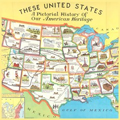"""""""Picturing America: The Golden Age of Pictorial Maps"""" and """"Putting the 'Art' back in Cartography"""" are just two of the lectures Sat. April 27 at the Library of Virginia. - Uploaded by cindylva"""