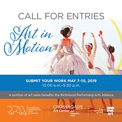 Call for Entries - Art in Motion - Uploaded by Jenni Kirby