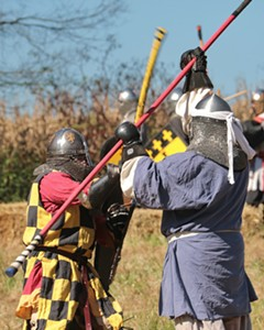 Medival Combat Weekly in Richmond! - Uploaded by @rva_sca
