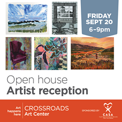 September Open House + Artist Reception - Uploaded by Jenni Kirby