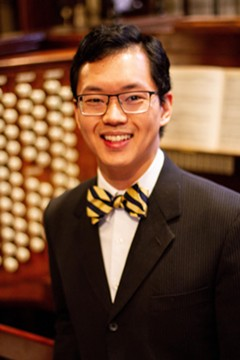 Aaron Tan, concert organist - Uploaded by Christopher Martin
