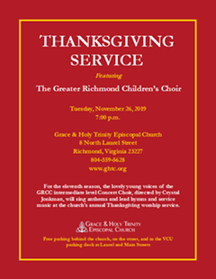 Thanksgiving Service Flyer - Uploaded by GHTCadmin