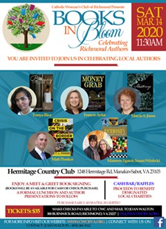 Books In Bloom event flyer - Uploaded by sueberinato