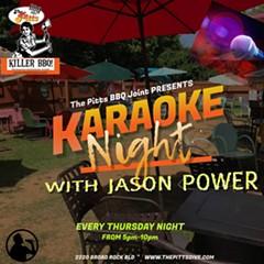 Karaoke Night with Jason Power - Uploaded by Lisa Ann Peters