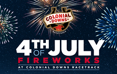 4th of July at Colonial Downs - Uploaded by RosiesCD