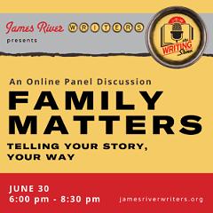 June 2021 Writing Show: Family Matters - Uploaded by JRW Program Director