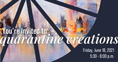 You're Invited to Quarantine Creations - Uploaded by Kent Brockwell