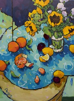 89610389_angus_wilson_tangerines_and_sunflowers_on_blue.jpg