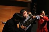 Best musical slapstick: Zhou Family Band