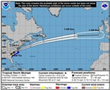 State of Emergency Declared in Virginia Ahead of Tropical Storm Michael