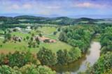在谢南多厄河谷,一场风景画展览发现了多样性。