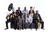 The Dirty Dozen Brass Band at the Tin Pan