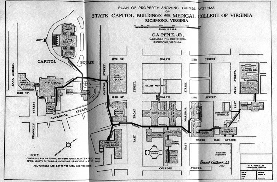 The State S Department Of General Services Refuses To Let Us Down There But We Know They Exist Below Capitol Square Is A Vintage Tunnel System That Links
