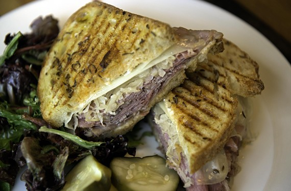 Union Market's Reuben, one of the dishes featured during RVA Sandwich Week, which runs through Aug. 30.