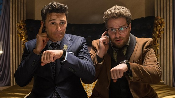 """Unless you've been in a coma or stuck in holiday traffic, you know that the comedy film """"The Interview"""" starring James Franco and Seth Rogen has gotten wayyyy too much attention thanks to hackers."""