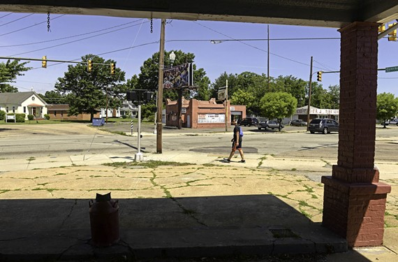 Urban planners say this former gas station could play a key role in transforming the intersection of Seminary Avenue and Lombardy Street into a vibrant town square.
