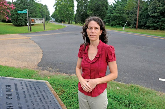 Varina's at a crossroads, says Nicole Anderson Ellis at New Market and Battlefield Park roads. - SCOTT ELMQUIST