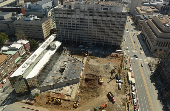 VCU Health System is building a $168 million children's pavilion to consolidate outpatient care at Marshall and Broad streets, which will complement the Children's Hospital of Richmond at VCU. - SCOTT ELMQUIST