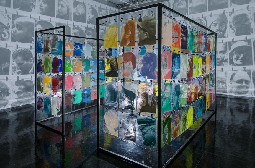 """VCU professor Bohyun Yoon's """"Neighbors"""" (2012) installation is on view at VCUarts Anderson Gallery through Dec. 8. - TERRY BROWN"""