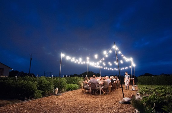 Victory Farms and the Boathouse will hold a series of events, Dinner in the Field, in late June.
