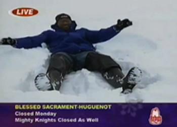 VIDEO: NBC12's Snow Angel