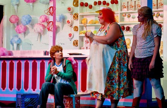 Virginia Opera's entertaining adaptation of Engelbert Humperdinck's classic opera features Karin Mushegain as Hansel, Margaret Gawrysiak as the witch and Julia Ebner as Gretel. - DAVID POLSTON