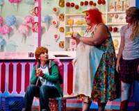 Virginia Opera's entertaining adaptation of Engelbert Humperdinck's classic opera features Karin Mushegain as Hansel, Margaret Gawrysiak as the witch and Julia Ebner as Gretel.